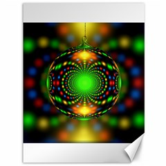 Christmas Ornament Fractal Canvas 36  X 48
