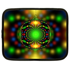 Christmas Ornament Fractal Netbook Case (xxl)