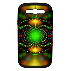 Christmas Ornament Fractal Samsung Galaxy S Iii Hardshell Case (pc+silicone)