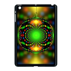 Christmas Ornament Fractal Apple Ipad Mini Case (black)