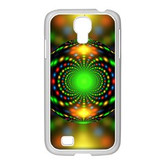 Christmas Ornament Fractal Samsung Galaxy S4 I9500/ I9505 Case (white)