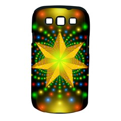 Christmas Star Fractal Symmetry Samsung Galaxy S Iii Classic Hardshell Case (pc+silicone)