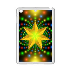 Christmas Star Fractal Symmetry Ipad Mini 2 Enamel Coated Cases