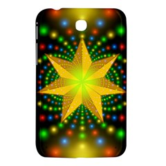 Christmas Star Fractal Symmetry Samsung Galaxy Tab 3 (7 ) P3200 Hardshell Case
