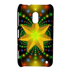 Christmas Star Fractal Symmetry Nokia Lumia 620