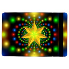 Christmas Star Fractal Symmetry Ipad Air 2 Flip
