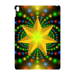 Christmas Star Fractal Symmetry Apple Ipad Pro 10 5   Hardshell Case