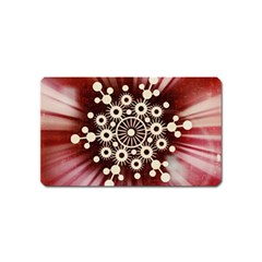 Background Star Red Abstract Magnet (name Card)
