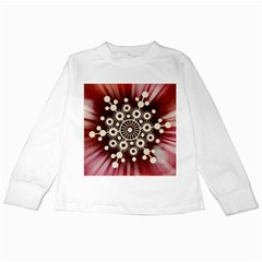 Background Star Red Abstract Kids Long Sleeve T Shirts