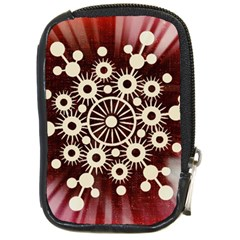 Background Star Red Abstract Compact Camera Cases