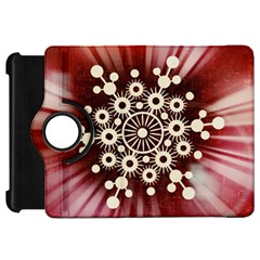 Background Star Red Abstract Kindle Fire Hd 7