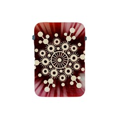 Background Star Red Abstract Apple Ipad Mini Protective Soft Cases