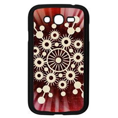 Background Star Red Abstract Samsung Galaxy Grand Duos I9082 Case (black)
