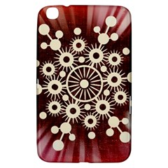 Background Star Red Abstract Samsung Galaxy Tab 3 (8 ) T3100 Hardshell Case