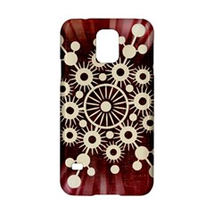 Background Star Red Abstract Samsung Galaxy S5 Hardshell Case