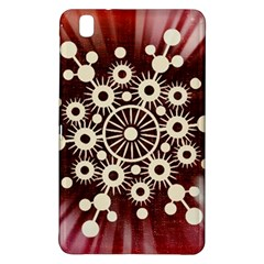 Background Star Red Abstract Samsung Galaxy Tab Pro 8 4 Hardshell Case