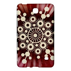 Background Star Red Abstract Samsung Galaxy Tab 4 (7 ) Hardshell Case
