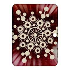 Background Star Red Abstract Samsung Galaxy Tab 4 (10 1 ) Hardshell Case