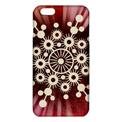 Background Star Red Abstract Iphone 6 Plus/6s Plus Tpu Case
