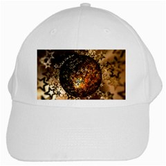 Christmas Bauble Ball About Star White Cap