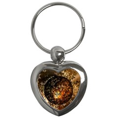 Christmas Bauble Ball About Star Key Chains (heart)