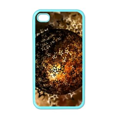 Christmas Bauble Ball About Star Apple Iphone 4 Case (color)