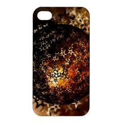 Christmas Bauble Ball About Star Apple Iphone 4/4s Hardshell Case