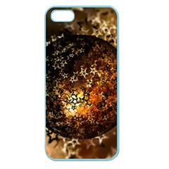 Christmas Bauble Ball About Star Apple Seamless Iphone 5 Case (color)