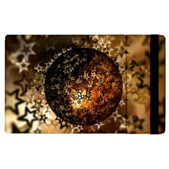 Christmas Bauble Ball About Star Apple Ipad 2 Flip Case