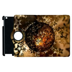 Christmas Bauble Ball About Star Apple Ipad 3/4 Flip 360 Case