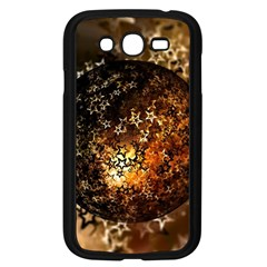 Christmas Bauble Ball About Star Samsung Galaxy Grand Duos I9082 Case (black)
