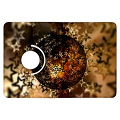 Christmas Bauble Ball About Star Kindle Fire Hdx Flip 360 Case