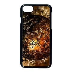 Christmas Bauble Ball About Star Apple Iphone 8 Seamless Case (black)