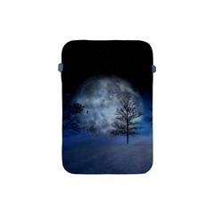 Winter Wintry Moon Christmas Snow Apple Ipad Mini Protective Soft Cases