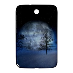 Winter Wintry Moon Christmas Snow Samsung Galaxy Note 8 0 N5100 Hardshell Case