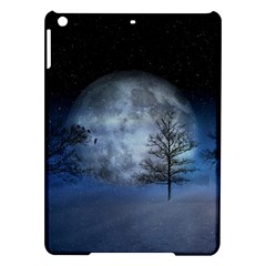 Winter Wintry Moon Christmas Snow Ipad Air Hardshell Cases