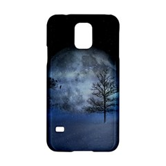 Winter Wintry Moon Christmas Snow Samsung Galaxy S5 Hardshell Case