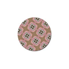 Pattern Texture Moroccan Print Golf Ball Marker (10 Pack)