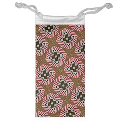 Pattern Texture Moroccan Print Jewelry Bag