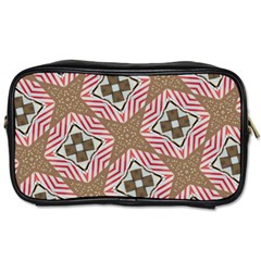 Pattern Texture Moroccan Print Toiletries Bags 2 Side