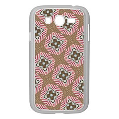 Pattern Texture Moroccan Print Samsung Galaxy Grand Duos I9082 Case (white)