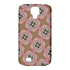 Pattern Texture Moroccan Print Samsung Galaxy S4 Classic Hardshell Case (pc+silicone)