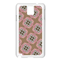 Pattern Texture Moroccan Print Samsung Galaxy Note 3 N9005 Case (white)
