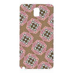 Pattern Texture Moroccan Print Samsung Galaxy Note 3 N9005 Hardshell Back Case