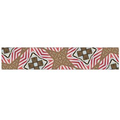 Pattern Texture Moroccan Print Large Flano Scarf