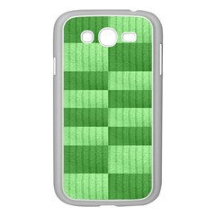 Wool Ribbed Texture Green Shades Samsung Galaxy Grand Duos I9082 Case (white)