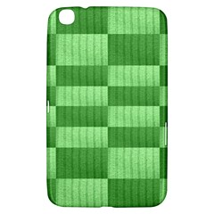 Wool Ribbed Texture Green Shades Samsung Galaxy Tab 3 (8 ) T3100 Hardshell Case
