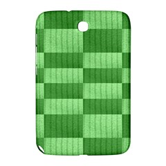 Wool Ribbed Texture Green Shades Samsung Galaxy Note 8 0 N5100 Hardshell Case