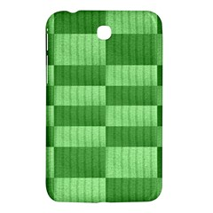 Wool Ribbed Texture Green Shades Samsung Galaxy Tab 3 (7 ) P3200 Hardshell Case