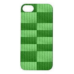 Wool Ribbed Texture Green Shades Apple Iphone 5s/ Se Hardshell Case